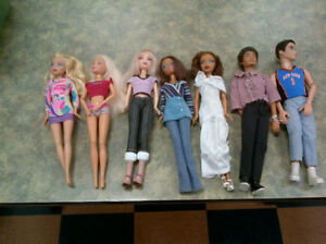 My Scene Barbie Dolls $6 ea or $35 All