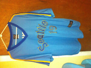Floyd bannister 1983 seattle mariners mlb jersey 2xl