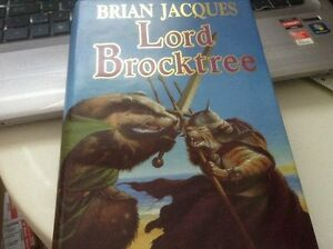 hardcover~Lord Brocktree: A Novel of Redwall:by Brian Jacques