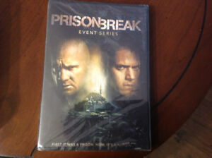 PRISON BREAK EVENT SERIES-9 HOURS-NEVER OPENED