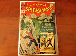 The Amazing Spider-Man #2, 1st Appearance of the Vulture