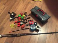 Lots of fishing stuff