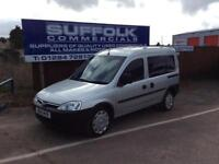 VAUXHALL COMBO-TOUR-WHEEL CHAIR ADAPTED-**AUTOMATIC**