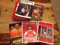 Official Arsenal Matchday Programmes Bundle