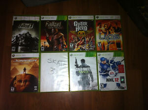 Xbox 360 game lot 8 games