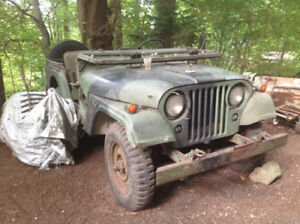 1971 Willy's Jeep 'Kaiser' M38 A1