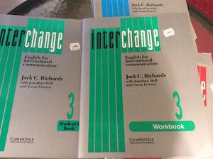 Livre pour apprendre anglais & cahiers de travail