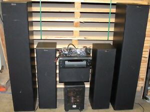 Nuance complete home audio system, huge sound, Sony amp $1000