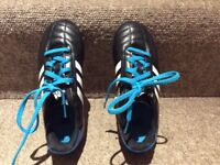 Adidas children boys football shoes- Size 13K- Almost new- Excellent condition