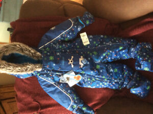 Boys Oshkosh Snowsuit  size 12 M