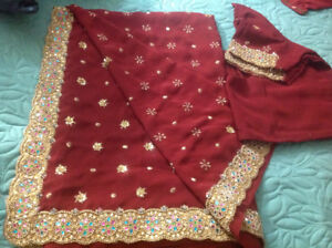 brand new & previously loved but just like new sarees on sale