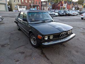 1981 BMW 528I 5 spd Manual