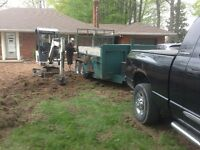 YARD LEVELING AND SOD INSTALLATION