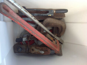 Large Wrenches and Miscellaneous Tool