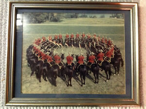 Vintage RCMP musical ride photo