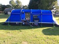 8 man kalahari tent (camping starter kit )