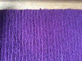 Ikea rug 100% wool purple excellent condition
