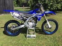 2018 Yamaha YZF 250 Very Low Use Only 8 Hours