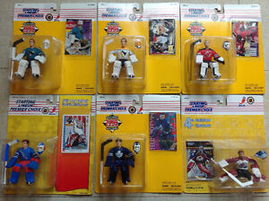 Starting Lineup Figurines Gretzky Lemieux Roy