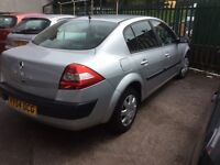 2004 Renault Megane 1.6-December 16 mot-ideal family car-great value