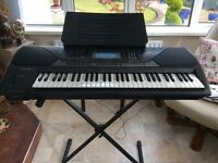 Casio keyboard plus stand