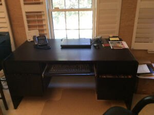 Desk and printer table