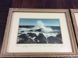 NS vintage framed photographs by E A Whynot