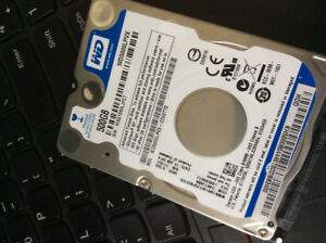 500GB laptop hard disks