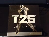 T25 workout fitness DVD's