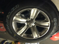 Brand new Dodge Ram wheels and tires