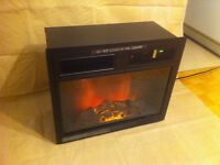 Homelegance - Electric Fireplace Insert & Heater, can deliver!