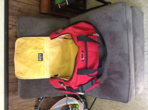 Roots Red Duffle Bag