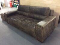 Rustic Three Seater Sofa