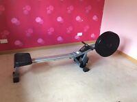 V-fit AR1 air rowing machine