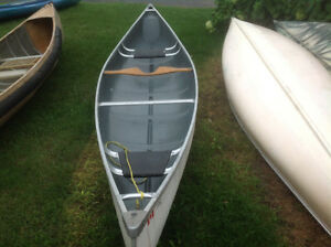 Lightweight Scott canoe with carry yoke