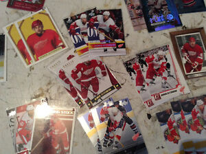 Large Assorment of hockey cards.