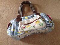 Baby nappy bag & baby bath seat