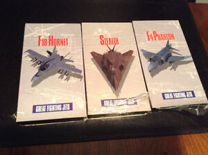 Great fighter jets documentaries on VHS
