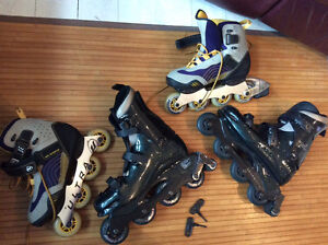 2 PAIRS of ULTRA WHEELS In-line ABEC 5