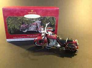 Decoration de Noel Ornament Harley Davidson