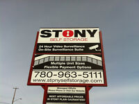 **ONLY** $139 / Month for 10'X15' Storage in Stony Plain!!!