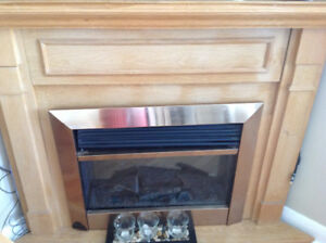 Fire place in a good working condition