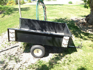 Utility Trailer For Riding Lawnmower