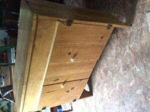 """Cabinet solid 1"""" pine"""