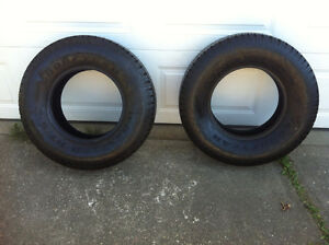 235/75R15 - 95% - Goodyear Wrangler RT/S - Mint Condition