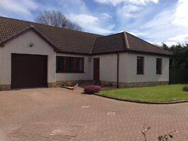 Detached 4 bedroom Bungalow in desirable area of Forfar