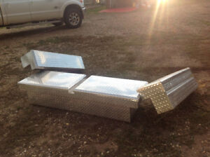 Truck Mounted Tool and Storage Bins for sale.
