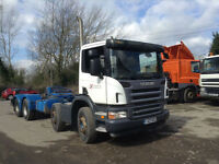 Scania P-SRS C-CLASS 8X4 DAY