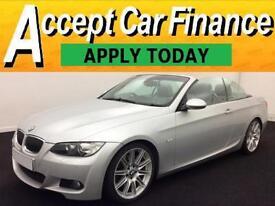 BMW 330 3.0TD auto 2008MY d M Sport FROM £43 PER WEEK!