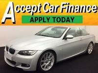 BMW 330 3.0TD auto 2008MY d M Sport FROM £43 PER WEEK!